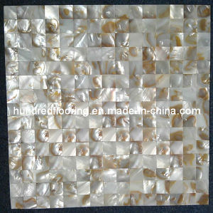 Iridescent Chinese River Shell Mosaic Tile (HMP61) pictures & photos