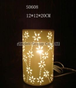 Home Decoration-Table Lamp Porcelain Holly Lamp (S0608)