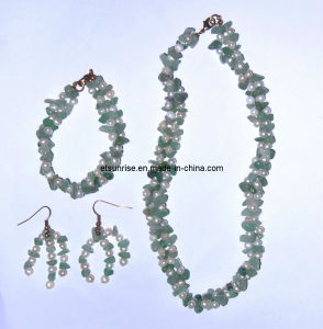 Gemstone Crystal Fashion Jewelry Pearl Necklace Jewelry Sets <Esb01367> pictures & photos
