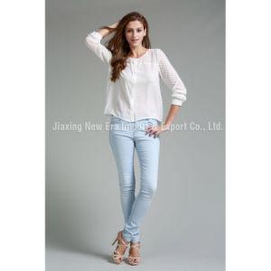 Women′s Ladies′ Silk&Cotton Fashion Blouse