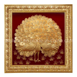 24k Gold Peacock (HS-GP-P01)