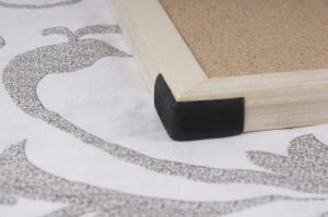 Wooden Frame Cork Message Board pictures & photos