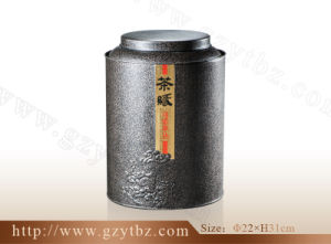 Tin Package Tea Container