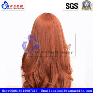PP Synthetic Wig/ Fake Human Hair Monofilament Machine pictures & photos