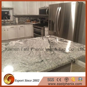 Natural Polished Kitchen Worktops White Granite Kitchen Countertop pictures & photos