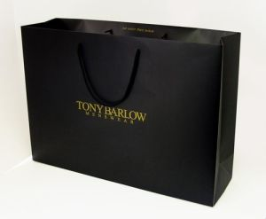 Direct Factory Machine Made Luxury Custom Paper Bag pictures & photos