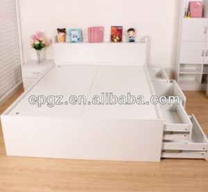 Luxury Wooden Baby Bed for Children Furniture pictures & photos