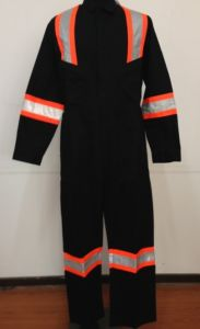 En11612/En11611 Anti-Fire 100% Cotton Overall with Reflective Tape