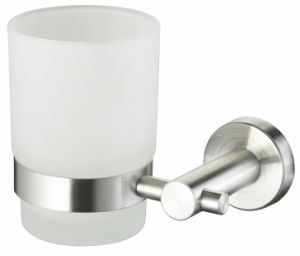 Single Glass Cup Holder Round Shape