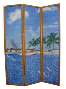 Breezy Coast 3 Panel Screen (QDSC-81005)