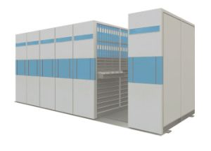 Manual High Density Mobile Shelving pictures & photos