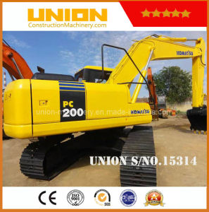 Used Komatsu PC200-7 (20t) Hydraulic Crawler Excavator pictures & photos
