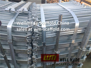 Construction Equipment Scaffolding Layher Allround Ringlock U Ledger pictures & photos