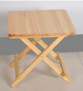 Solid Wood Folding Table (H-H0246)