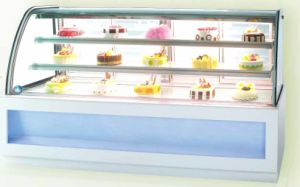 3 Layers LED Strip Light Cake Cabinet (JC)