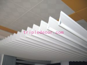 Suspended Aluminum Waterdrop Strip Screen Ceiling Series