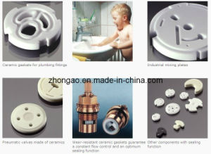 Tap Plates/Gaskets Made of High-purity Alumina pictures & photos