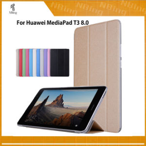 Smart Covers Cases for Huawei Mediapad T3 8.0 Kob-L09 Kob-W09 for 8′′ Tablet PC Stand Slim Cases for Honor Play Pad 2 8.0 pictures & photos