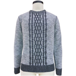 Ladies Knitted Cable Design Fashion Sweater