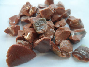 Color Glass Sand - Red Gold Sand