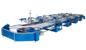 Automatic Oval Textile Printing Machine
