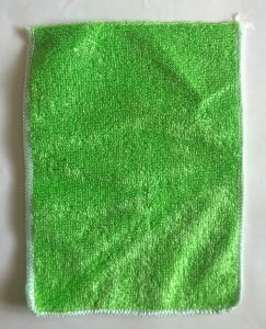 Microfiber Multipurpose Green Bamboo Cleaning Cloth pictures & photos