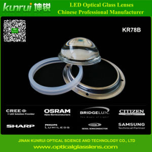 High Power LED Optical Glass Lens for High Bay Light (KR78B)