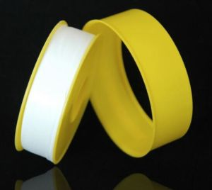 Pure PTFE Tape for Acids, Alkalis, Gases Environment pictures & photos