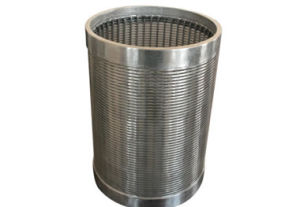 Welded Wedge Wire Screen Tube / Well Screen Pipe pictures & photos