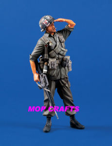 Polyresin Soldier, Resin 3D Soldier pictures & photos