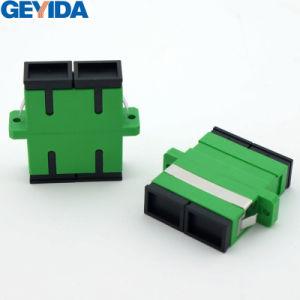 Sc/APC Sm Duplex Fiber Optic Adapter pictures & photos