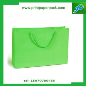 Candy Cloor Sweety Customized Kraft Paper Bag / Shopping Bag pictures & photos