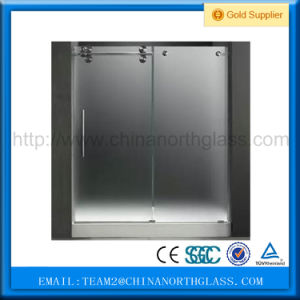 Hot Sale Curved Glass Shower Door pictures & photos
