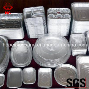 China 8011 Aluminum Foil Roll Food Containers pictures & photos