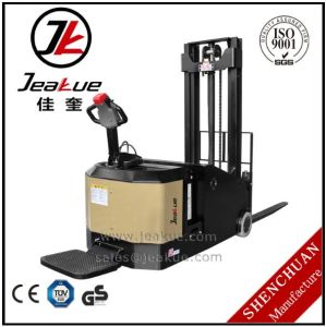 1.2 Ton 1.5 Ton Counterbalance Electric Stacker for Sale pictures & photos
