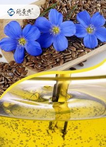 Plant Oil Flaxseed Oil Edible Linum Oil