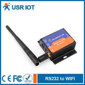Serial RS232 to 802.11b/G/N WiFi Server, Support Smart Link (USR-WiFi232-200)