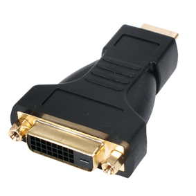 ZVC-003G HDMI 19P/M-DVI24+1/F Adapter