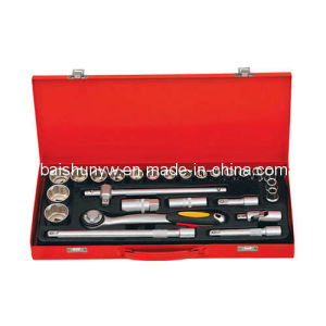High Quality Socket Set 27PCS/King Tools Socket Set (BS-S03) pictures & photos