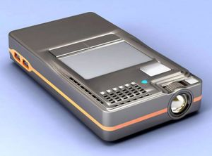 Mini Portable Projector with Windows CE System (DP2000)