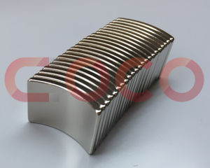 Arc Permanent Neodymium Magnets for Electrical Motor Parts pictures & photos