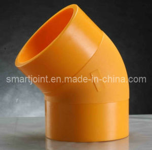 HDPE Pipe Fittings Butt Fusion Elbow 500mm SDR11 pictures & photos