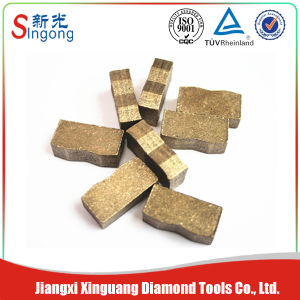 Diamond Grinding Segment Cutting Tool for Core Drill Bit pictures & photos