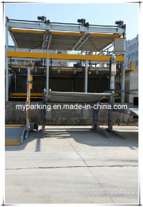 Hydraulic Mechanical Double Layers Car Parking