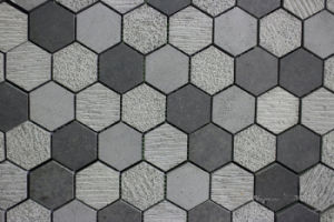Black / Grey Basalt Mosaic, Mosaic Tile and Stone Mosaic pictures & photos