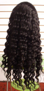 Popular India Remy Human Hair Lace Front Wig for Black Women