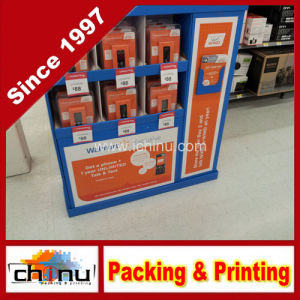 Mobile Phone Communications Equipment Corrugated Board Pallet Display (6135) pictures & photos