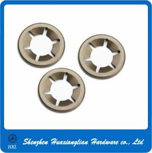 Factory M3 M4 M5 Stainless Steel Self Locking Star Washer pictures & photos