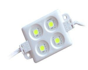 55*34mm White 5050 4PCS 12V LED Module pictures & photos