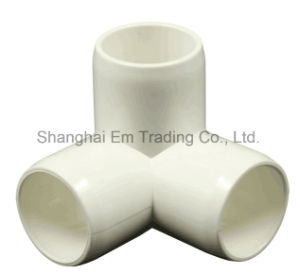 All Standard PVC Equal 3-Way Elbow Pipe Fittings pictures & photos